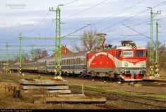 Net Photo: 689 CFR Calatori - Romanian Railways 477 / ASEA at Békéscsaba, Hungary by Location Map, Photo Location, Locomotive, Hungary, Trains, Locs, Train