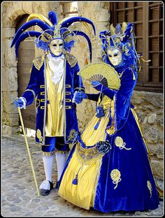 Venetian Carnival in Pérouges ~