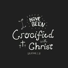 Christ died that I may be saved from my sin! Glory be to God!