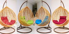 Balansoar din Ratan Natural – Pentru Gradina sau Sufragerie Hanging Chair, Furniture, Home Decor, Houses, Decoration Home, Hanging Chair Stand, Room Decor, Home Furnishings, Home Interior Design