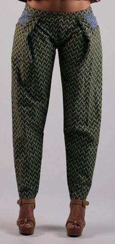 .Wow - love these pants! Try your own project with shweshwe fabrics from www.karlottapink.com