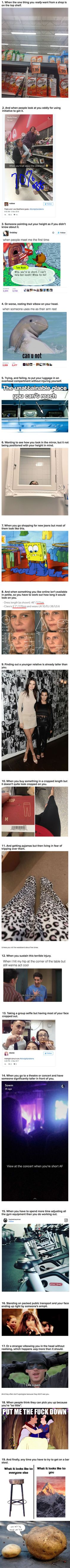 19 little things that ruin your day if you're a girl under 5'3""