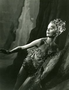 Margaret Leighton as Ariel, in The Tempest, SMT 1952 by Shakespeare Birthplace Trust