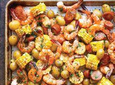 Sheet-Pan Shrimp Boil. Get the recipe.