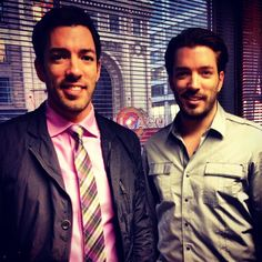 Thanks for visiting the show, Drew and Jonathan Scott! We ❤ the Property Brothers!