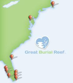 Great Burial Reef® Ocean Cremation Urns, Burial at Sea