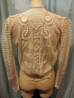Vintage Victorian blouse. Etsy