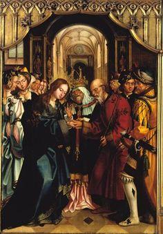 Casamento da Virgem, por Gregório Lopes.