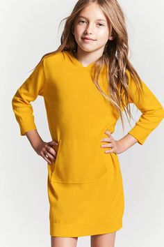 To find out about the Yellow Long Sleeve Backless Straight Dress at SHEIN, part of our latest Dresses ready to shop online today! Short Summer Dresses, Trendy Dresses, Nice Dresses, Dress Summer, Shift Dresses, Dress Long, Girls Dresses, Summer Shorts Outfits, Tween Fashion