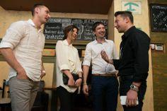 Представители интерьер-бутик A-partment и журнала-партнера вечера - HOME Interior