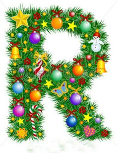 Illustration of Letter Z - Christmas tree decoration - Alphabet vector art, clipart and stock vectors. Holiday Fonts, Christmas Fonts, Christmas Crafts For Gifts, Christmas Design, Christmas Printables, Christmas Pictures, Christmas Art, Winter Christmas, Christmas Tree Decorations
