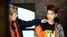 Is D.O. ok? He looks sad and Baekhyun looks like he is comforting him<-----Aww D.O. don't be sad...