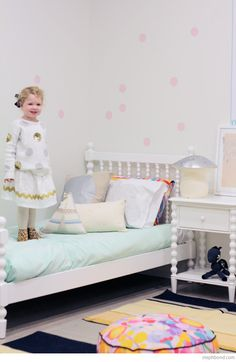 Bondville: Kids Bedroom Decorating Advice from Petite Vintage Interiors