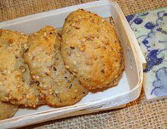 As nossas cozinhas: Biscoitos de sementes de sésamo torradas