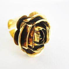 anillos mujer bronce con baño de oro 24k lindas joyas Cufflinks, Rings For Men, Accessories, Jewelry, Gold Plating, Bronze, Rings, Jewels, Women