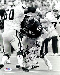 Jon Kolb Autographed 8x10 Photo Steelers PSA/DNA #W66958