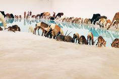 Cai Guo-Qiang - Falling Back to Earth, 2013