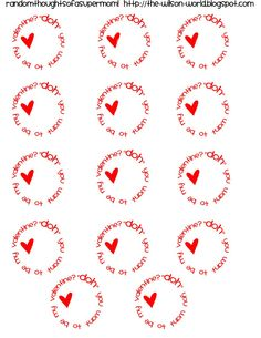 Play Doh Valentines With Printable Labels Valentines Day Treats Love Valentines Valentine Crafts
