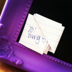 Note from my bestfriend