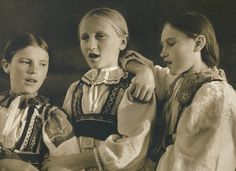 Girls from Liptov - Slovakia photo. Heart Of Europe, Free Black, Album, Present Day, Girl Costumes, Traditional Outfits, Digital Image, Old Photos, Vintage Art