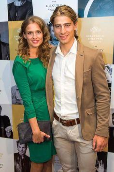 Peter Sagan  manželkou Katkou