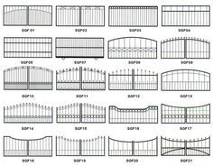 Rock Gate Entrances   Iron Gate Design Ideas   Types Of Gate Design Ideas