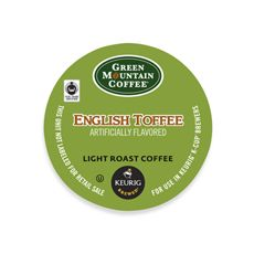 K-Cup® Green Mountain Coffee® English Toffee for Keurig® Brewers - 18 Count