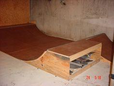 SkullandBonesSkateboards.com ~ View topic - new basement mini ramp