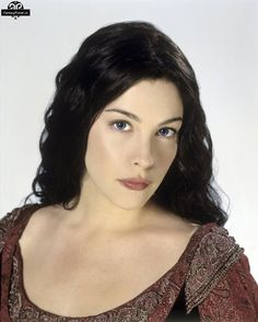 Liv Tyler as Arwen in the Lord of the Rings (Blood Red Dress)