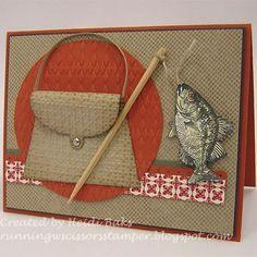 Fish Card Stampin' Up!