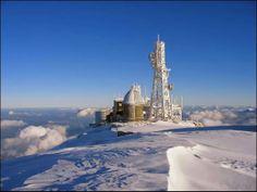 Il Centro AM di Montagna sulla vetta del Monte #Cimone by CAEItalia