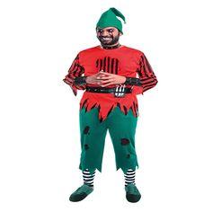 DisfracesMimo, disfraz de elfo asesino hombre talla m/l.   Lo pasarán de muerte asustando a los pequeños en la noche de Terror y halloween. Este disfraz es ideal para tus fiestas temáticas de miedo y elfos para adulto