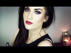 Pin-Up Inspired Drugstore Makeup Tutorial♡ - YouTube