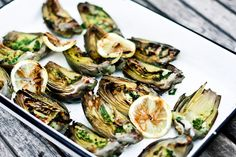 Grilled Artichokes with Basil Aioli