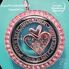 The Nesting hearts are an awesome edition to the origami owl Valentine's Day collection. These pieces are so versatile.