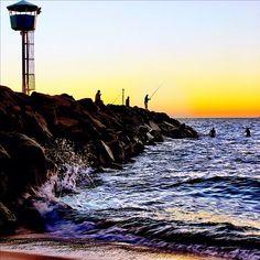 Sunset at City Beach in #Perth #Australia
