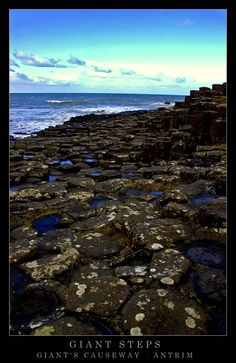 Giants Causeway, Antrim, Northern Ireland---- I have been here! It is so amazingly beautiful.  . . Almost magical!