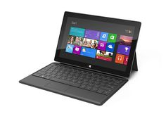 Microsoft Unveils Surface Tablet. With ARM, 32 GB base memory, a 10 inch screen and a keyboard with actual keys could this be the first tablet to actually act as a notebook or netbook replacement.