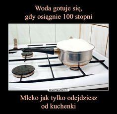 Mleko jak tylko odejdzieszod kuchenki – Haha, Da Fuq, Jokes, Entertaining, Humor, Funny, Meme, Pictures, Photos