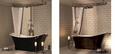 Image result for roll top bath with stand up shower
