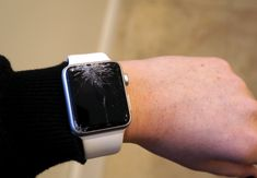 The tragic tale of a shattered Apple Watch