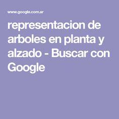 representacion de arboles en planta y alzado - Buscar con Google