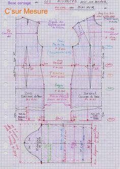 Définition Aisance : espace existant entre le vêtement et le corps. cliquez sur img = loupe Rendu des aisances minimum à avoir = sur les bases (jupe, pantalon,corsage,robe,chemise,vestes,manteaux...) Tableau de mesure des aisances feminines :