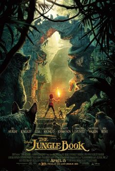 On Sale for 500 points! Bring home the wild adventure of Disney's The Jungle Book today with this beautiful 1-sheet teaser poster.
