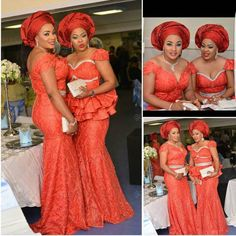 Turn Heads At You Next Owambe Party In These Fab Aso Ebi Styles