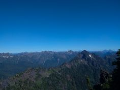 Mount Ellinor has two trailheads to hike. There are great views of the Olympic Mountains, the Puget Sound and the Hood Canal.