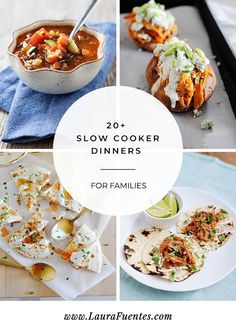The ultimate guide for family dinners using a slow cooker! Delicious recipes that will be a hit at the dinner table. Slow Cooker Tacos, Slow Cooker Recipes, Homemade Velveeta, Bean And Vegetable Soup, Crockpot Side Dishes, Slow Cooker Thai Chicken, Chicken With Italian Seasoning, Healthy Dinner Recipes, Delicious Recipes