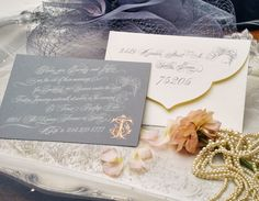 For today's weddings, especially if you are a New Orleans bride looking for something worthy of your wax seal, you can find it right here in New Orleans with our own fair city's stationary designer Alexa Pulitzer