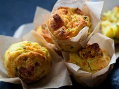 Savory Muffins, Egg Muffins, No Bake Desserts, Scones, Baked Potato, Food And Drink, Pumpkin, Healthy Recipes, Baking