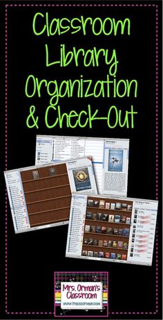 Classroom Library Organization & Check Out
